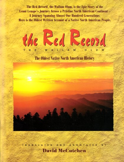 Image for Red Record, the :  The Wallam Olum, the Oldest Native North American History