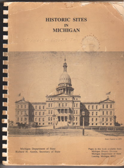 Image for Historic Sites in Michigan :  1838-1964