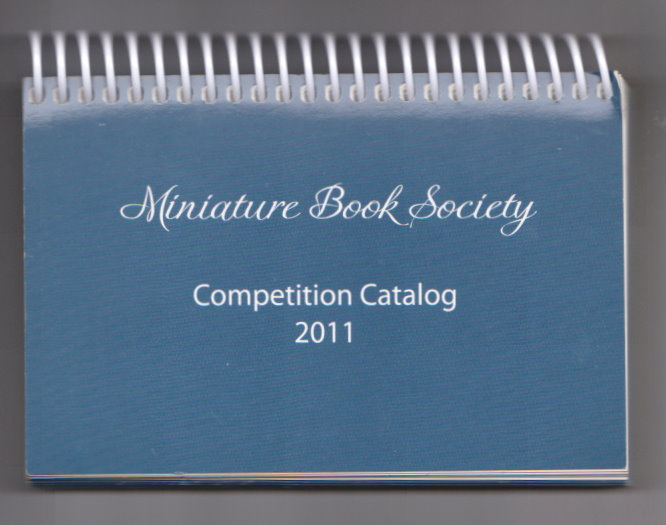 Image for Miniature Book Society :  Competition Catalog 2011
