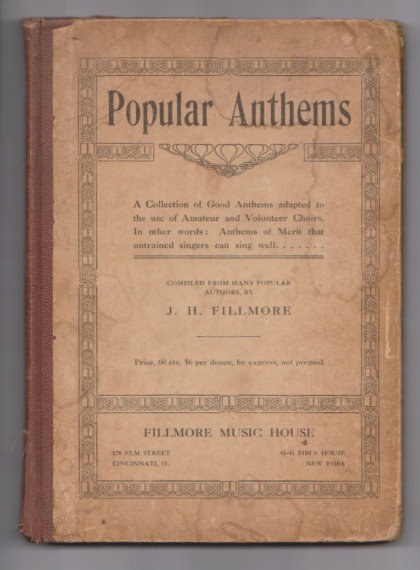 Image for Popular Anthems :  A Collection of Good Anthems Adapted to the Use of Amateur and Volunteer Choirs