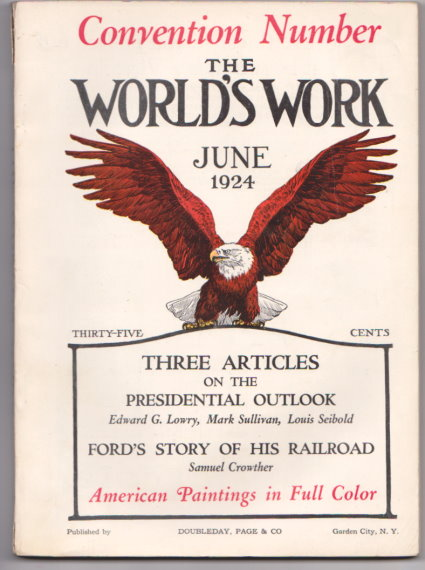 Image for World's Work, The, Volume 68, Number 2, June 1924 :  Ford's Story of His Railroad