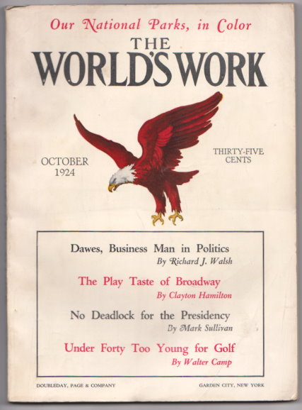 Image for World's Work, The, Volume 68, Number 6, October 1924 :  Under Forty Too Young for Golf