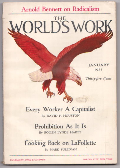 Image for World's Work, The, Volume 69, Number 3, January 1925 :  Prohibition As it Is, Hoboken, Buffalo, Detroit