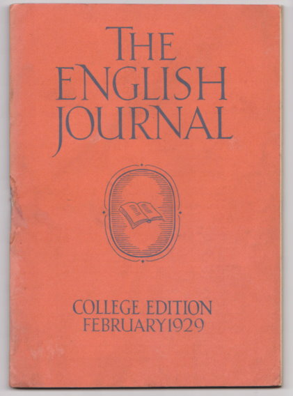 Image for English Journal, The, Volume 18, Number 2, February 1929 :  Official Organ of the National Council of Teachers of English
