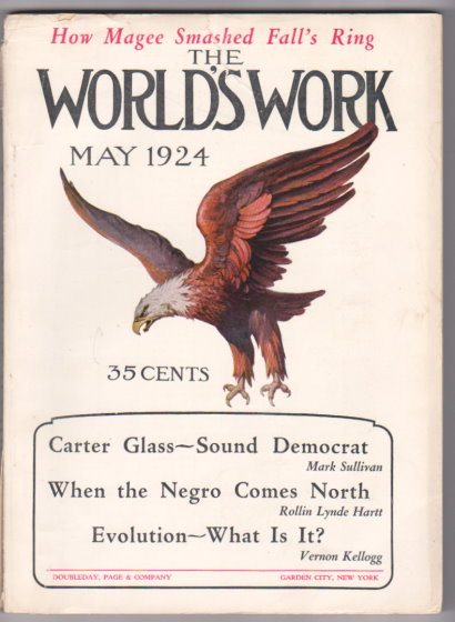 Image for World's Work, The, Volume 68, Number 1, May 1924 :  When the Negro Comes North