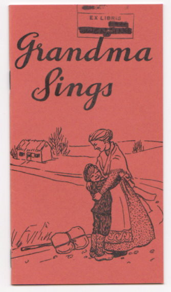 Image for Grandma Sings :  20 Danish Children's Folksongs with New English Translations