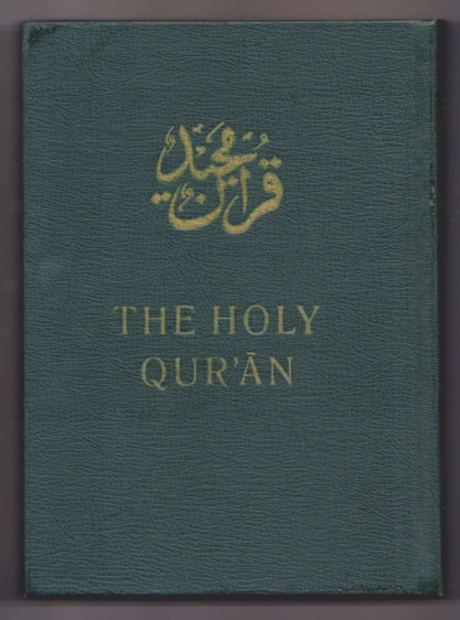 Image for Holy Qur'an, the :  Arabic Text with English Translation