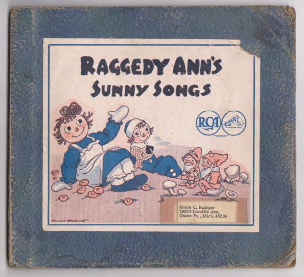 Image for Raggedy Ann's Sunny Songs :  Set of Three RCA Victor 78 RPM Records