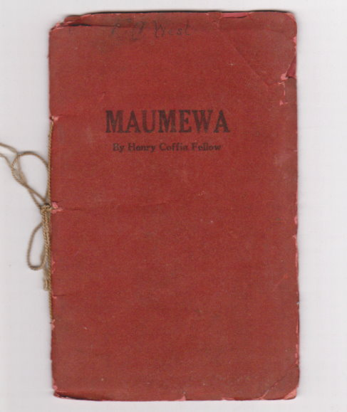 Image for Maumewa :  An Indian Lyric of the Ozarks
