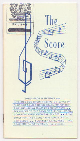 Image for Score, the :  Songs from 28 Nations