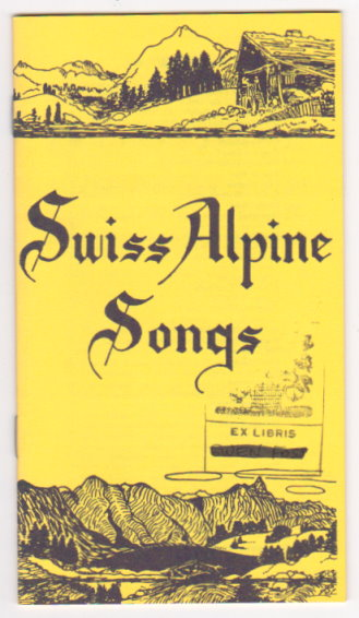Image for Swiss Alpine Songs