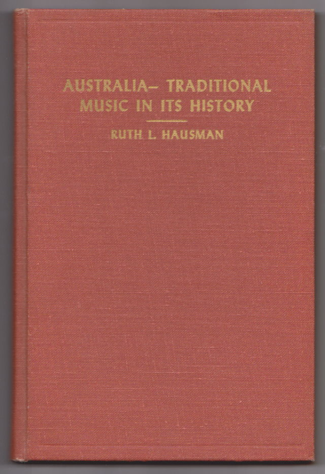 Image for Australia :  Traditional Music in its History