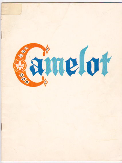 Image for Camelot Souvenir Program :  Starring William Squire, 1962