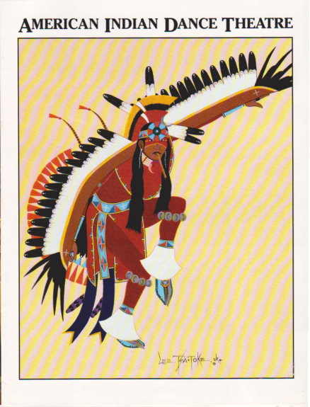 Image for American Indian Dance Theatre :  Souvenir Program, 1991