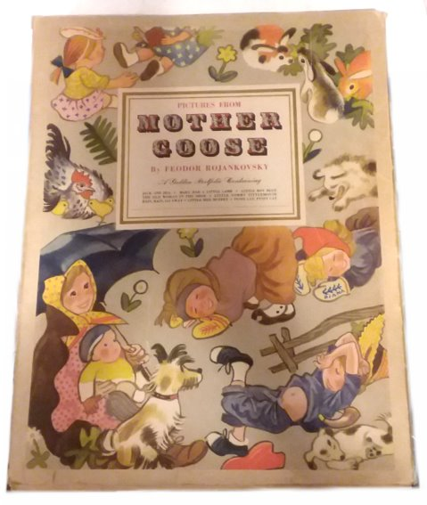 Image for Pictures from Mother Goose :  A Golden Portfolio, 1945