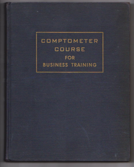 Image for Comptometer Course for Business Training