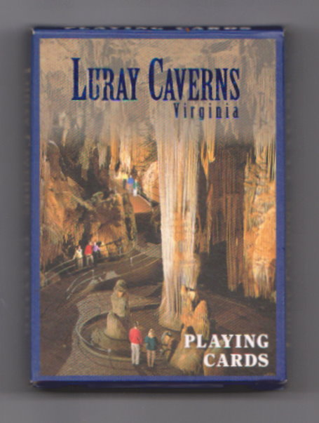 Image for Luray Caverns, Virginia :  Souvenir Playing Cards