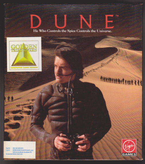 Image for Dune :   (Computer Game) He Who Controls the Spice Controls the Universe