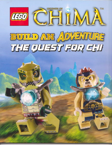 Image for Lego Chima, Build an Adventure, the Quest for Chi :  Legends of Chima, Lego Brickmaster