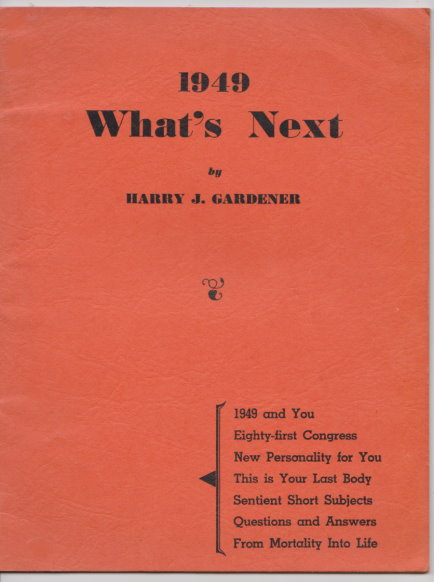 Image for 1949 :  What's Next