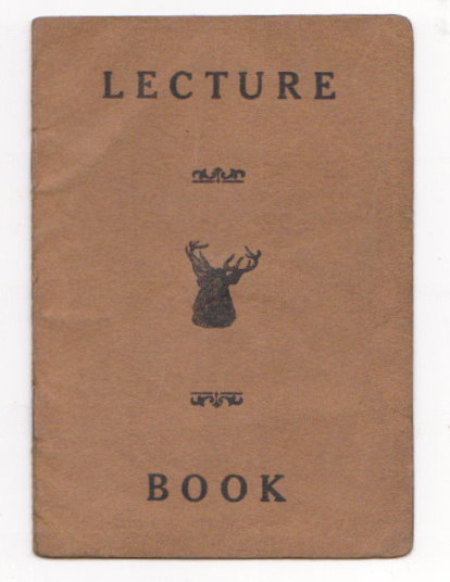 Image for Lecture Book :  Improved Benevolent and Protective Older of Elks of the World