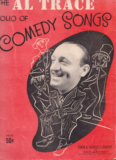 Image for Al Trace Folio of Comedy Songs, The