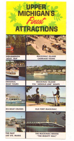 Image for Upper Michigan's Finest Attractions :  For Family Vacation Fun, 1965