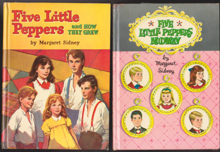 Image for Five Little Peppers and How They Grew :  And, Five Little Peppers Midway