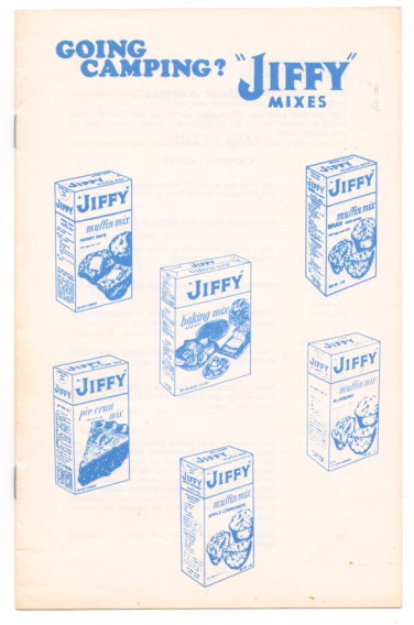 Image for Going Camping ? :  Use Jiffy Mixes