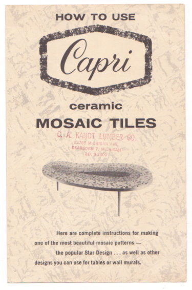 Image for How to Use Capri Ceramic Mosaic Tiles