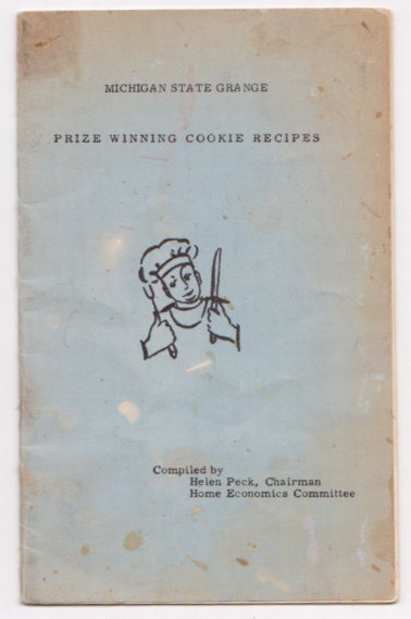 Image for Michigan State Grange :  Prize Winning Cookie Recipes