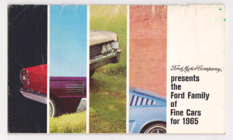 Image for Ford Motor Company Presents :  The Ford Family of Fine Cars for 1965