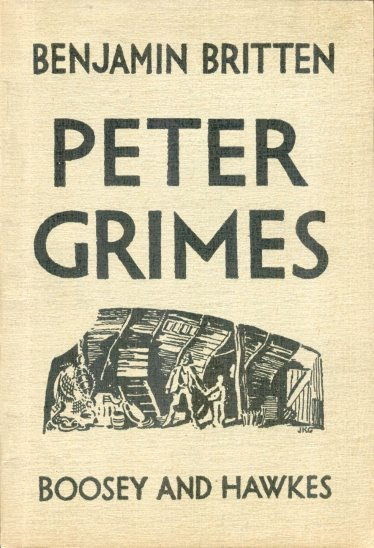 Image for Peter Grimes, Complete Libretto :  An Opera in Three Acts and a Prologue, Derived from the Poem of George Crabbe