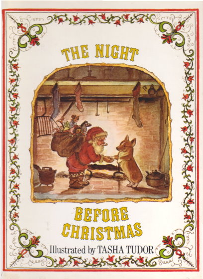Image for Night before Christmas, the :  Illustrated by Tasha Tudor