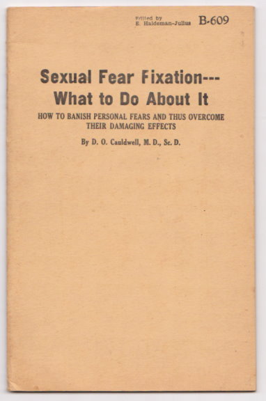Image for Sexual Fear Fixation and What to Do about it :  How to Banish Personal Fears and Thus Overcome Their Damaging Effects