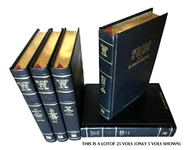 Image for Time Life Collector's Library of the Civil War, 25 Volume Set :  Embossed Leather
