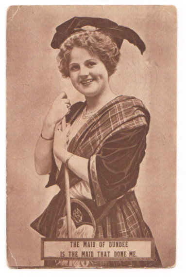 Image for The Maid of Dundee is the Maid That Done Me
