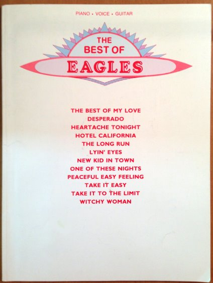 Image for Best of Eagles, the :  Piano, Vocal, Guitar, Songbook