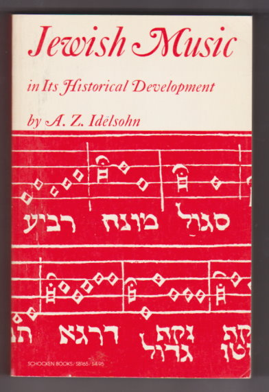 Image for Jewish Music :  In its Historical Development