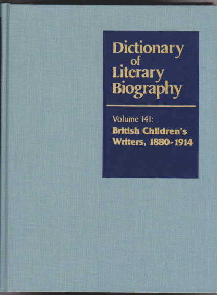 Image for DLB Dictionary of Literary Biography, Volume 141 :  British Children's Writers, 1880-1914