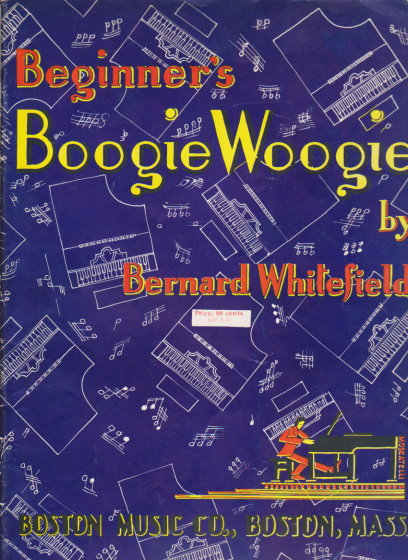 Image for Beginner's Boogie Woogie :  20 Original Compositions Progressing in Difficulty