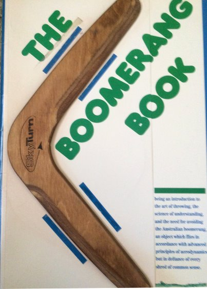Image for Boomerang Book, the :   (Klutz) Being an Introduction to the Art of Throwing