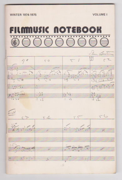 Image for Filmmusic Notebook, Volume 1, Number 2 :  Winter 1974-1975