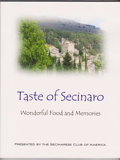 Image for Taste of Secinaro :  Wonderful Food and Memories