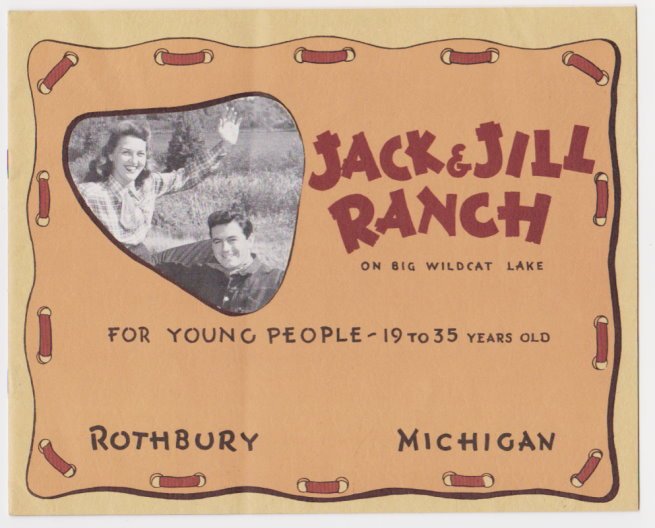 Image for Jack and Jill Ranch on Big Wildcat Lake :  For Young People 19 - 35 Years Old, Rothbury, Michigan (Double JJ Resort)