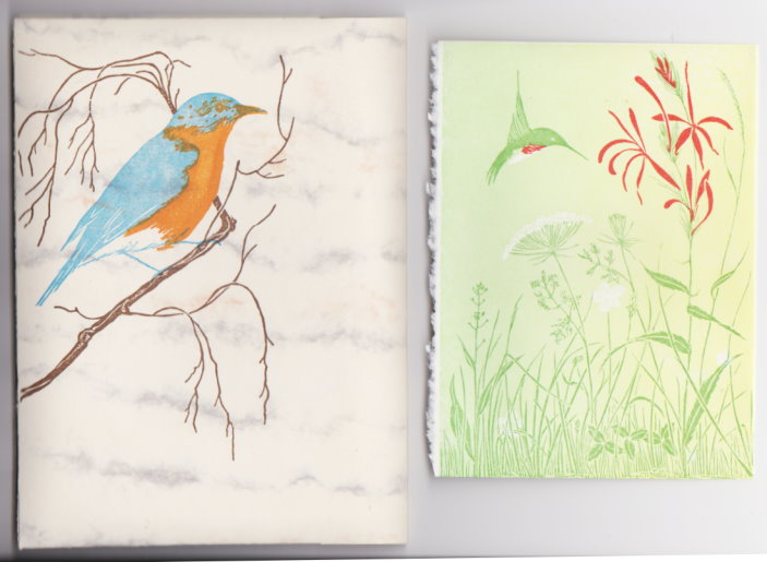 Image for Hummingbird Gift Cards :   (Set of Gwen Frostic Cards and Envelopes)