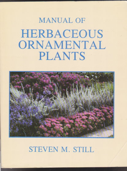 Image for Manual of Herbaceous Ornamental Plants