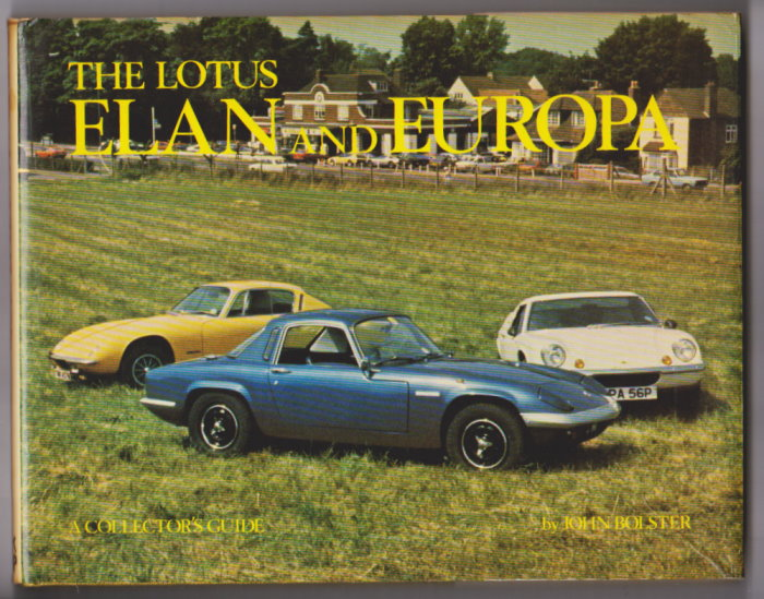 Image for Lotus Elan and Europa, the :  A Collector's Guide