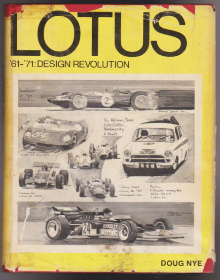 Image for Story of Lotus, 1961-1971, Growth of a Legend :  Design Revolution
