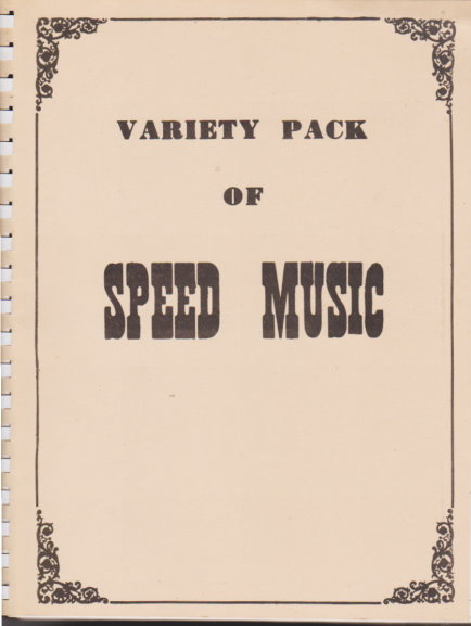Image for Variety Pack of Speed Music :  Easy Organ